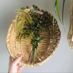 Large Basket Wall Decor Herb Gathering Fall